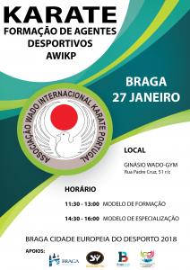 Curso Formação Agentes Desportivos AWIKP 27Jan18