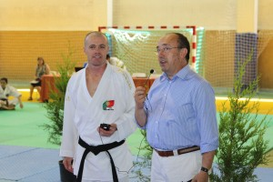 Joaquim Gonçalves e Manuel Barros (IPDJ Norte)